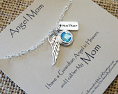 loss of mom memorial necklace
