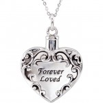forever loved ash holder pendant urn necklace