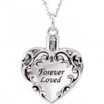 forever loved ash holder pendant urn necklace