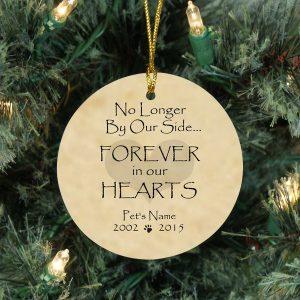 christmas pet memorial ornament