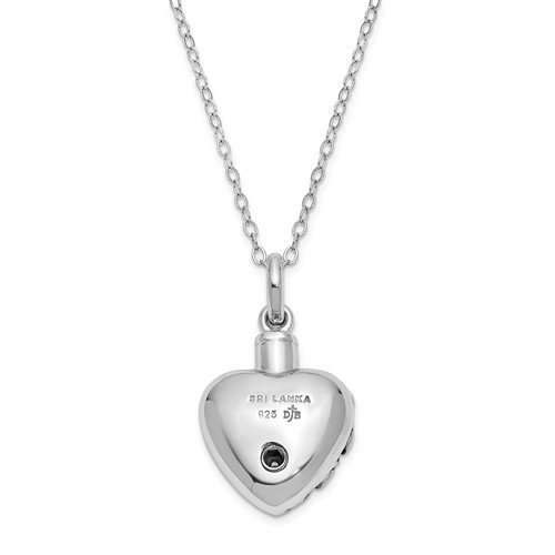 Always In My Heart Ash Holder Necklace by Deborah J Birdoes - Free Shipping