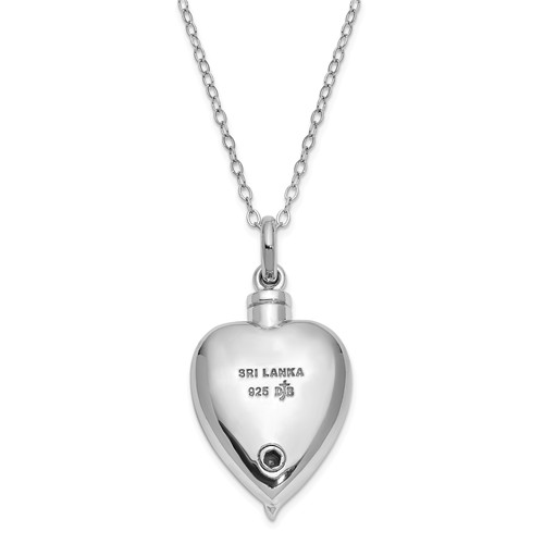 Forever My Baby Cremation Necklace with  - Free Shipping
