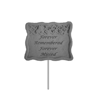 Forever Remembered Memorial Garden Stake