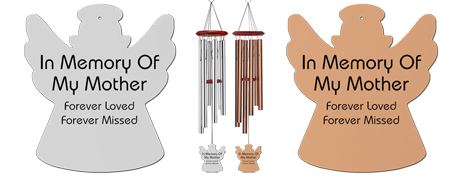 Mother - Memorial Angel Wind Chimes