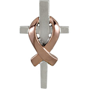 Remember Our Troops Cross Pendant