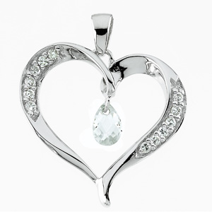 Compassionate Heart Pendant & Chain