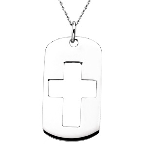 The Covenant of Prayer Dog Tag & Chain