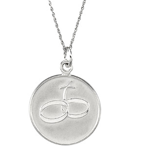 Comfort Wear Jewelry - Loss of a Spouse - Memorial Jewelry - Memorial Necklace