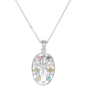 Celebrate Recovery Pendant & Chain - Christian Jewelry