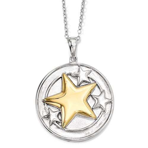 Your Brightest Star Inspirational Bereavement Necklace