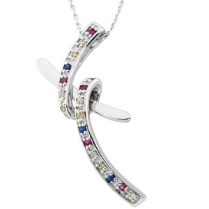 Dancing with Joy (TM) Pendant and Chain Sterling Silver - Christian Jewelry