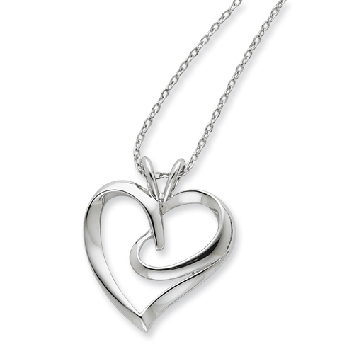 A Hugging Heart Inspirational Jewelry