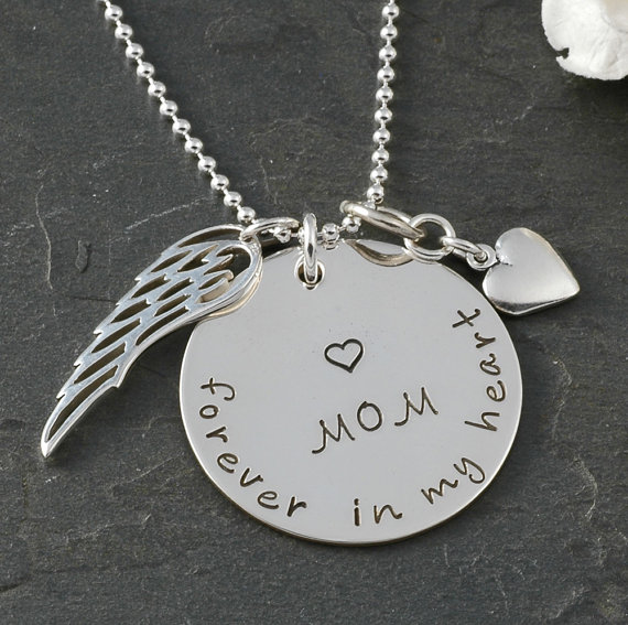 Memorial Necklace for Loss of Mother - Memorial Jewelry