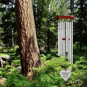Mother - Memorial Heart Wind Chimes