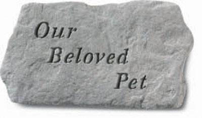Our Beloved Pet Memorial Garden Stone - Pet Memorial Gift Ideas