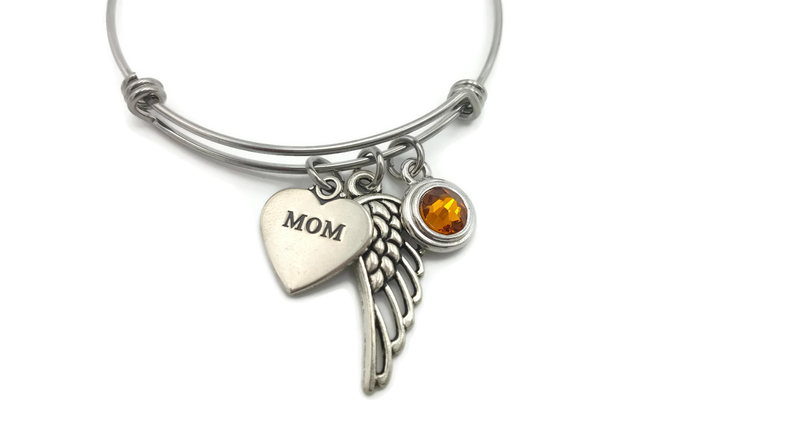Memorial Bracelet for Loss of Mom - Remembrance Bracelet - Free Shipping