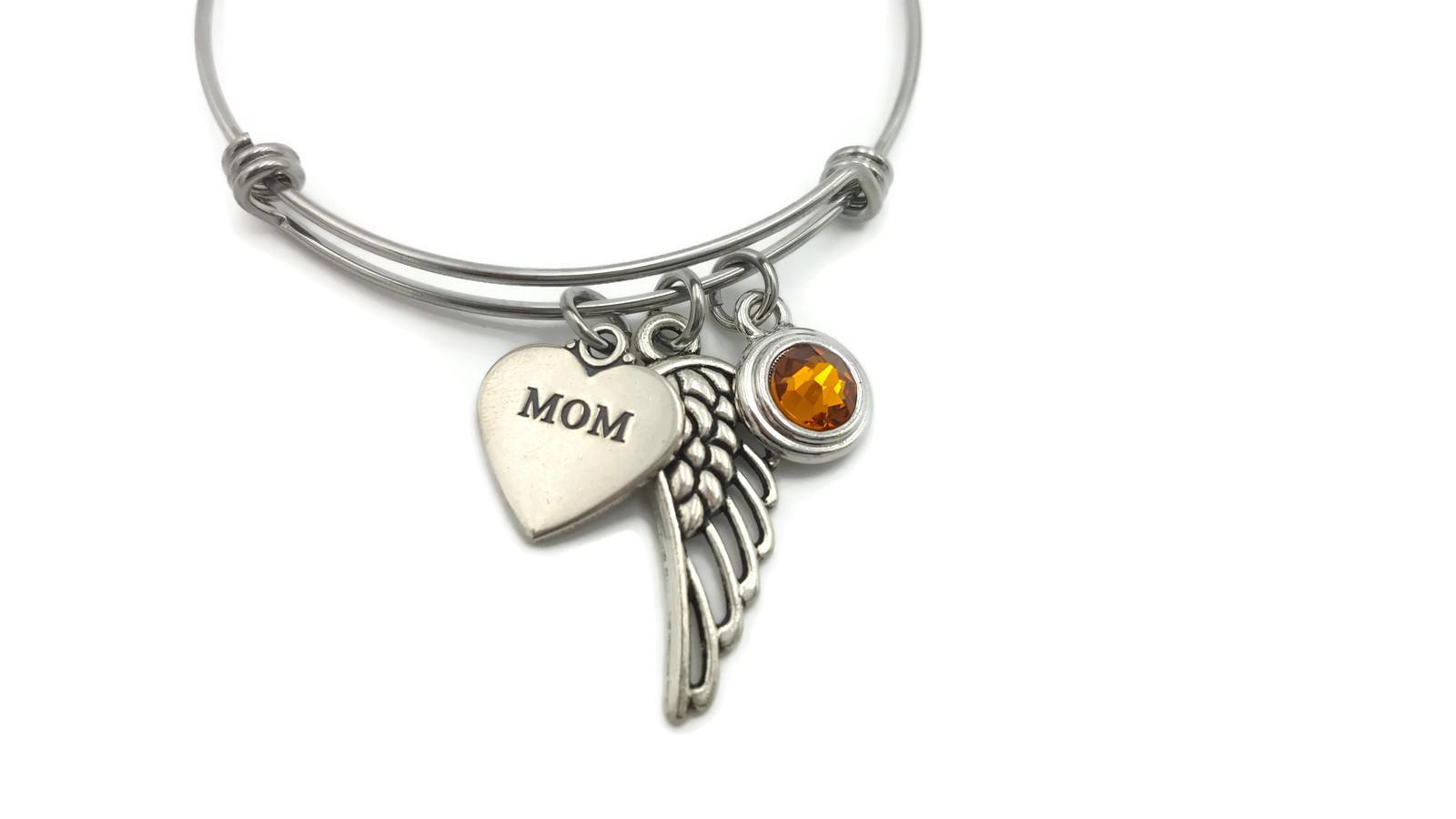 Memorial Bracelet for Loss of Mom - Remembrance Bracelet