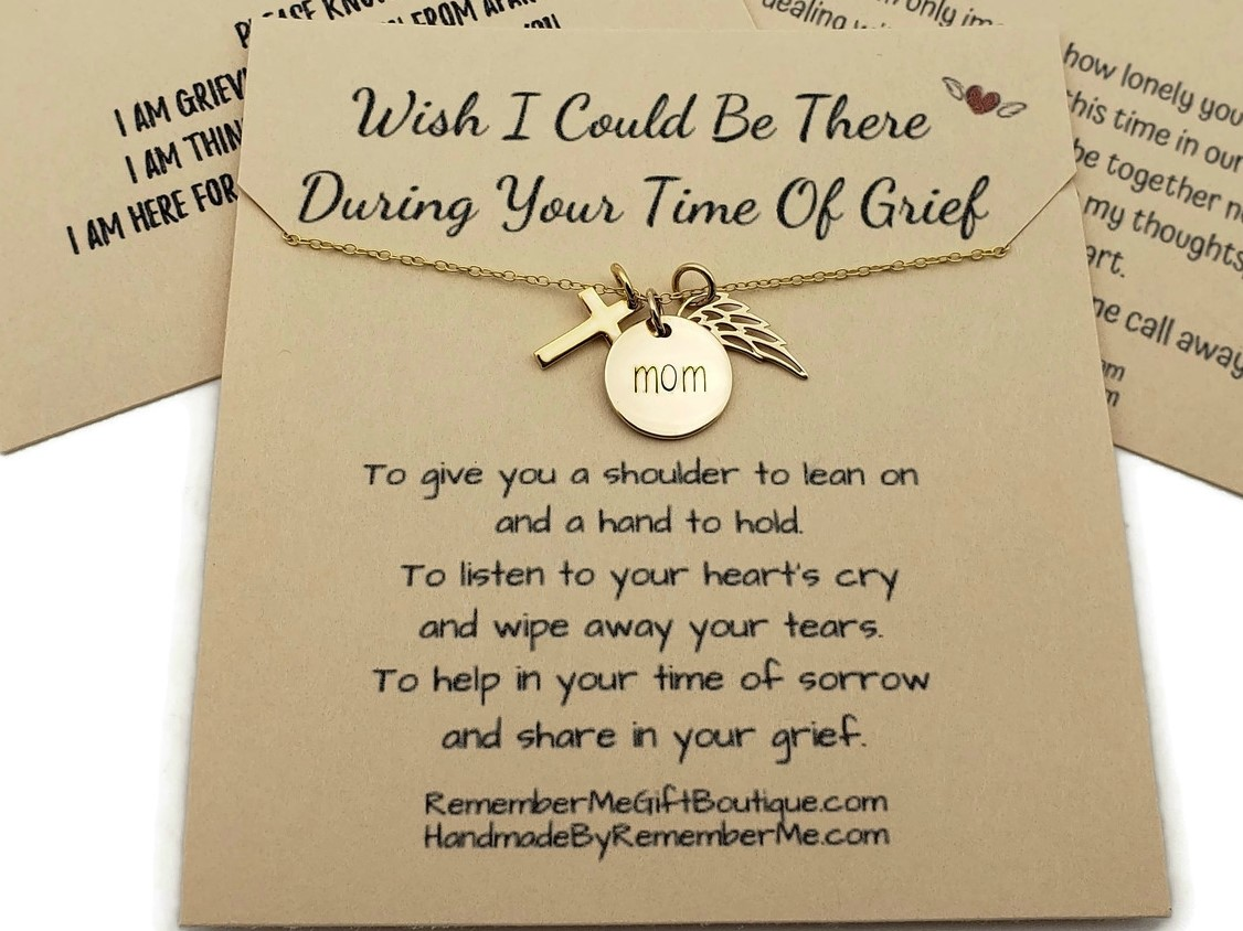 Loss of Mother Jewelry - Remembrance Gifts
