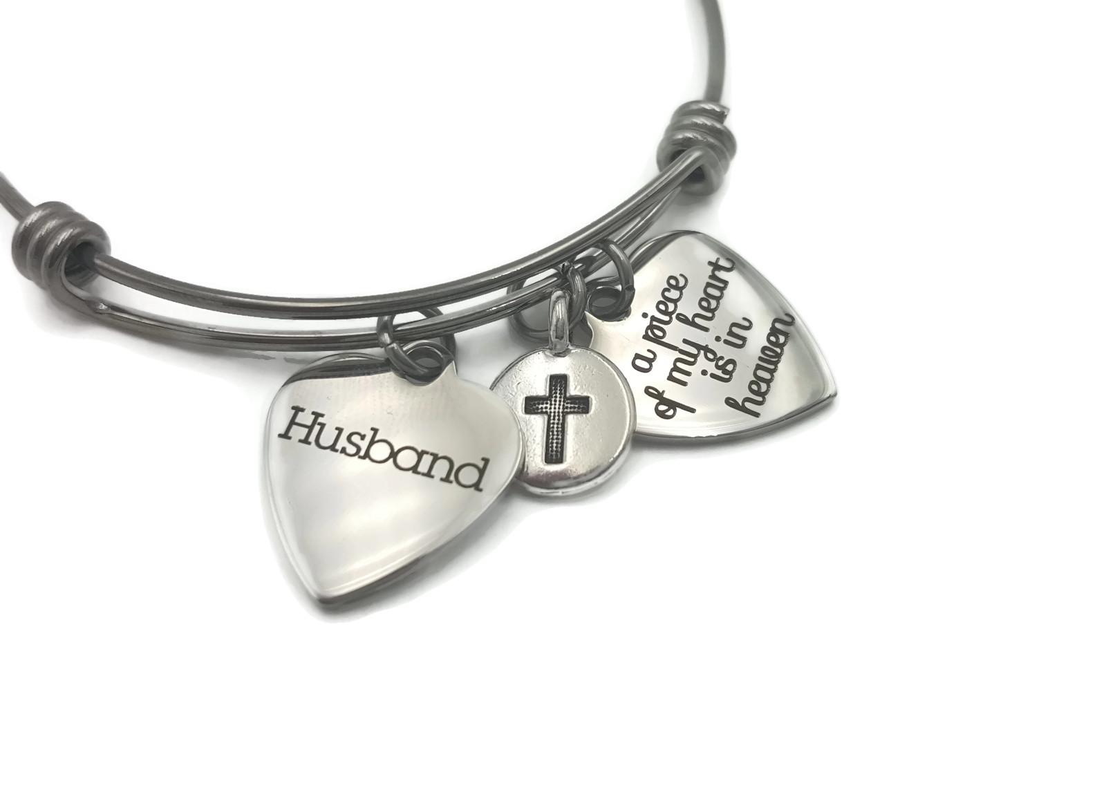 Memorial Gift for Loss of Husband - Remembrance Bracelet