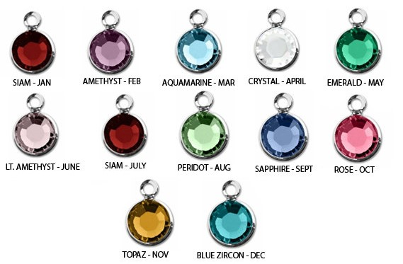 Sterling Silver First Communion Necklace with Birthstone and Name - Free Shipping