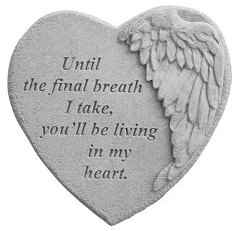 Until the Final, Winged Hearts, Memorial Garden Stone