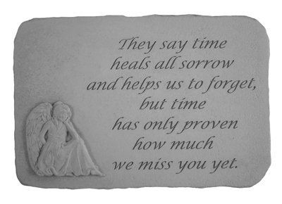They Say Time, Angel Stones, Memorial Garden Stone
