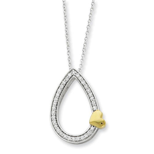 A Tear of Love, Memorial Jewelry, Memorial Necklace