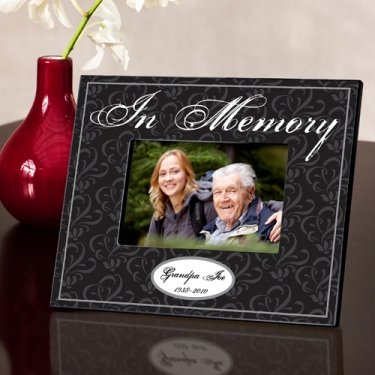 In Memory Memorial Picture Frame