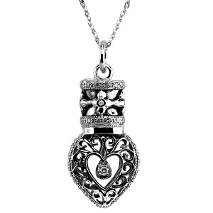 Heartfelt Tear Pendant & Chain