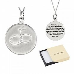 Comfort Wear Jewelry - Loss of Husband Remembrance Necklace