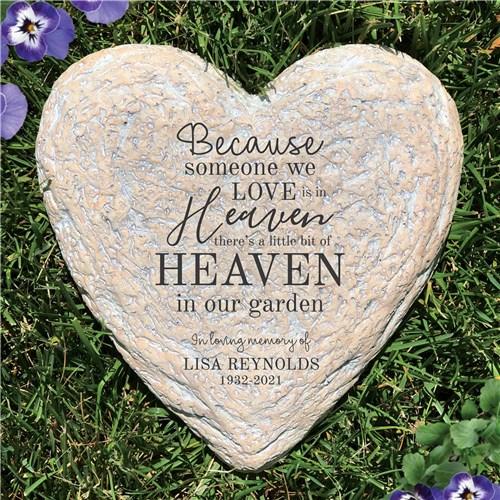 Because Someone We Love Memorial Garden Stone