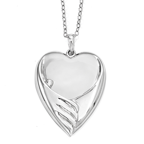 Forever My Baby Memorial Necklace -  Memorial Jewelry -  Loss of a Child