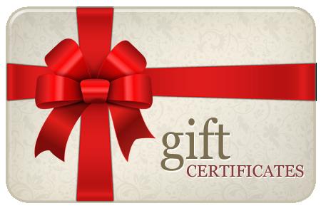 Sympathy Bear Gift Certificate