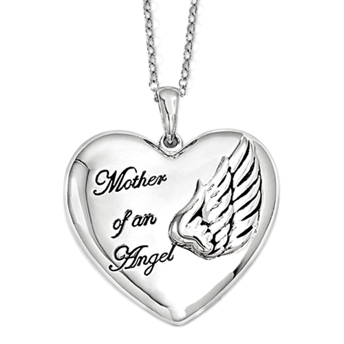 Mother of An Angel - Memorial Necklace