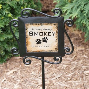 Pet Memorial Garden Stake - Personalized Pet Memorial Gifts