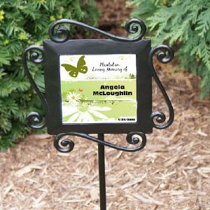 Personalized Memorial Garden Stake