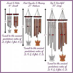 Angel Wind Chimes - John 3 16 Memorial Silver - Urn Available