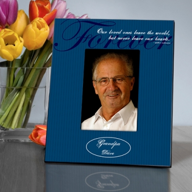 Personalized Memorial Picture Frame Never Gone